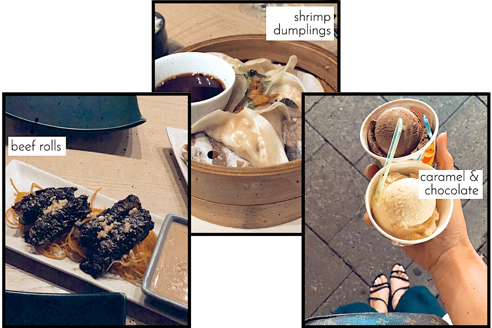 Date Night. Fashion and Style Blog Girl from Heartfelt Hunt. Girl with blonde low ponytail wearing an oversized blazer, bandeau top, black pants, Louis Vuitton pochette and strappy sandals. Summer Looks and Styles.