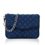 Denim Bag. Fashion Blogger Girl showing her latest fashion blog finds.