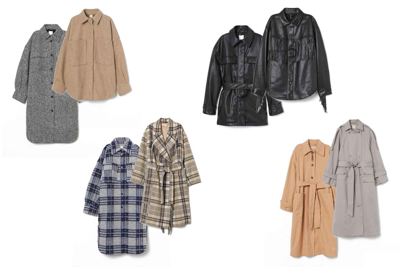 Fall Jackets & Coats 2020. Fashion Blogger Girl by Style Blog Heartfelt Hunt. Fashion girl showing her favorite fall jackets & coats for 2020.