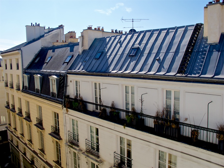 Parisian town houses