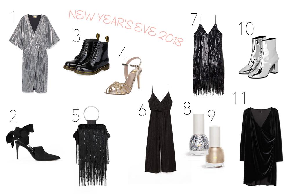Inspiration New Year's Eve 2018 Fashion Blog Heartfelt