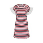 Inspiration Red Stripes. Fashion and Style Blog Girl from Heartfelt Hunt showing her inspiration with red and stripes.