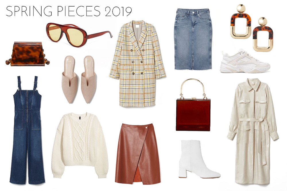 Inspiration Spring Pieces 2019. Fashion and Style Blog Girl from Heartfelt Hunt showing her inspiration for spring pieces 2019.