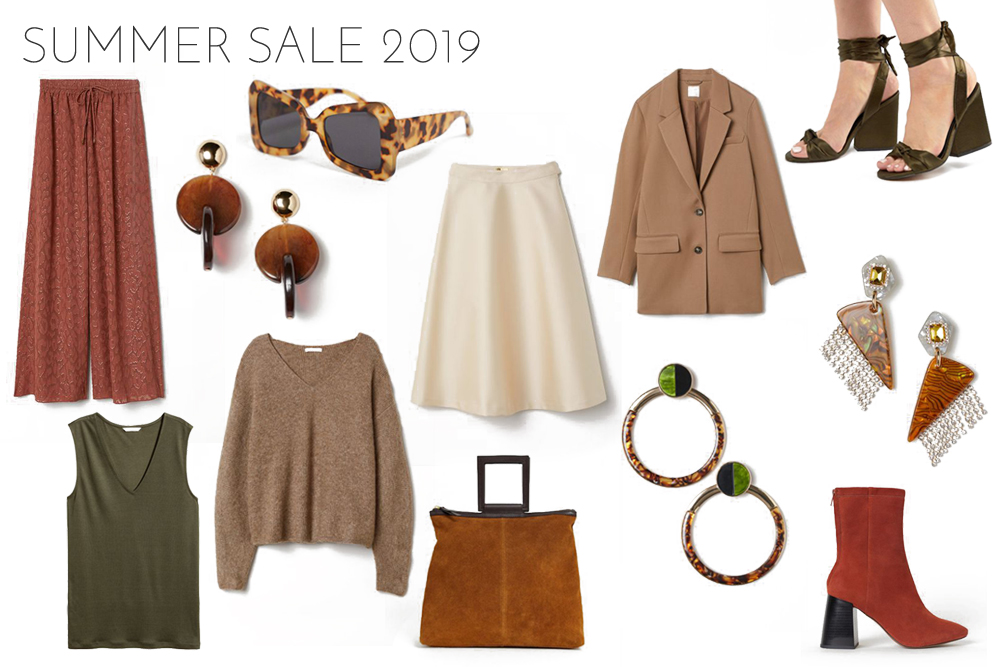 Inspiration Summer Sale 2019. Fashion and Style Blog Girl from Heartfelt Hunt showing her inspiration for summer sale 2019.