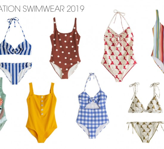 Inspiration Swimwear 2019. Fashion and Style Blog Girl from Heartfelt Hunt showing her inspiration for swimwear 2019.