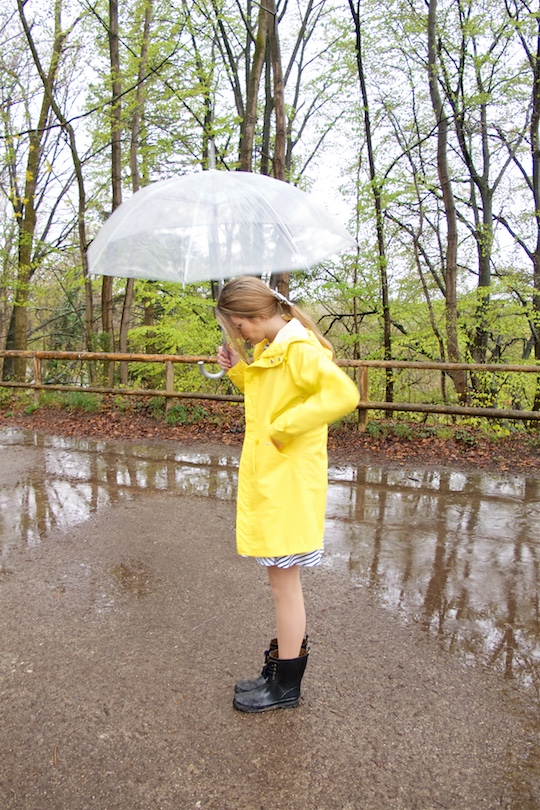Rainy Days. Fashion Blogger Girl by Style Blog Heartfelt Hunt.